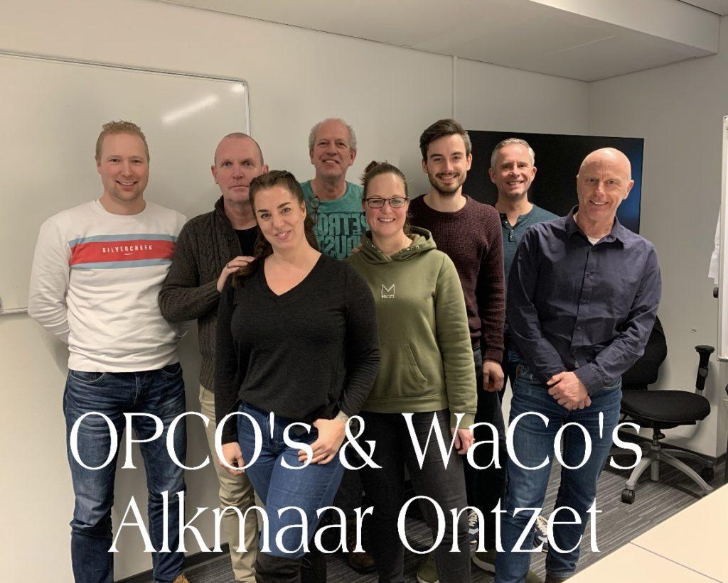 OPCO's en WaCo's Alkmaar Onzet